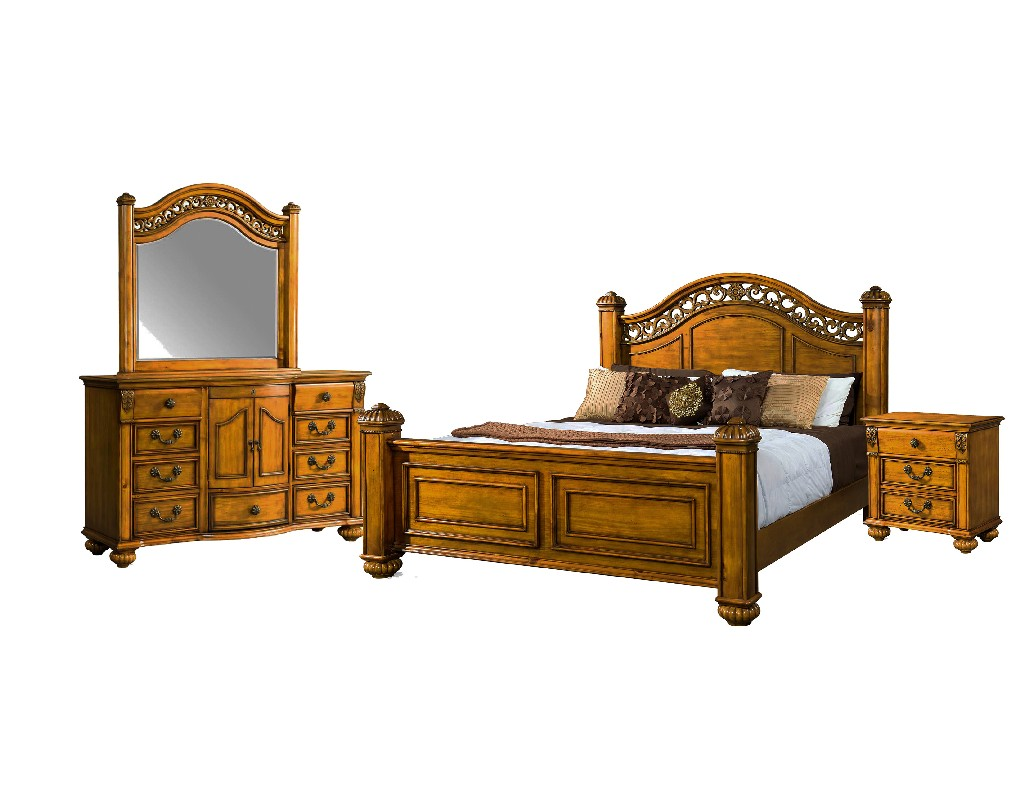 Picket House Barrow King Poster Bedroom Set