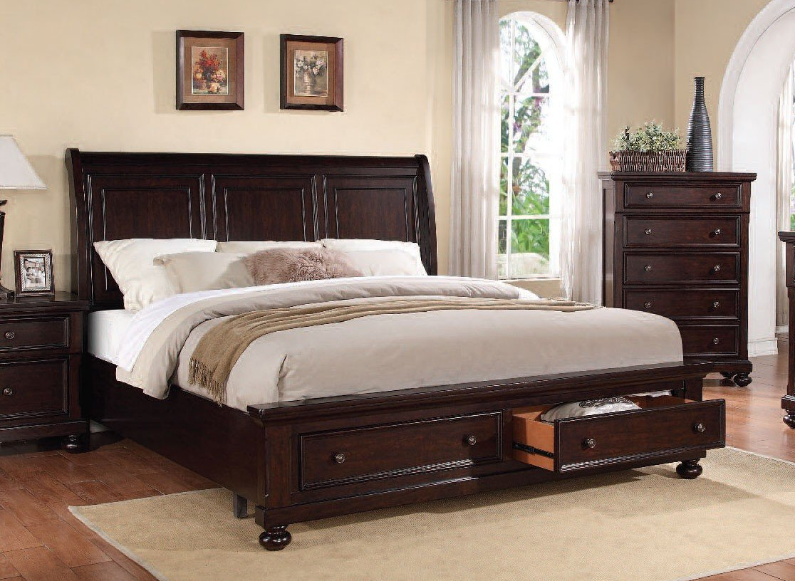 Acme Bed California King Storage