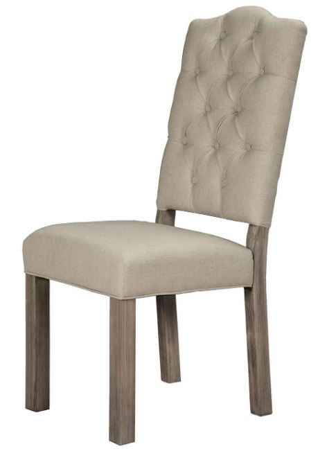 Fiji Tufted Upholstered Chair (Set of 2) - Alpine Furniture ORI-814-02