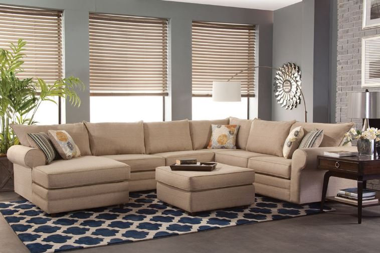 Kerry Right Arm Facing Chaise Sectional Chelsea Home Furniture 255100 24r Sec Lach Vl