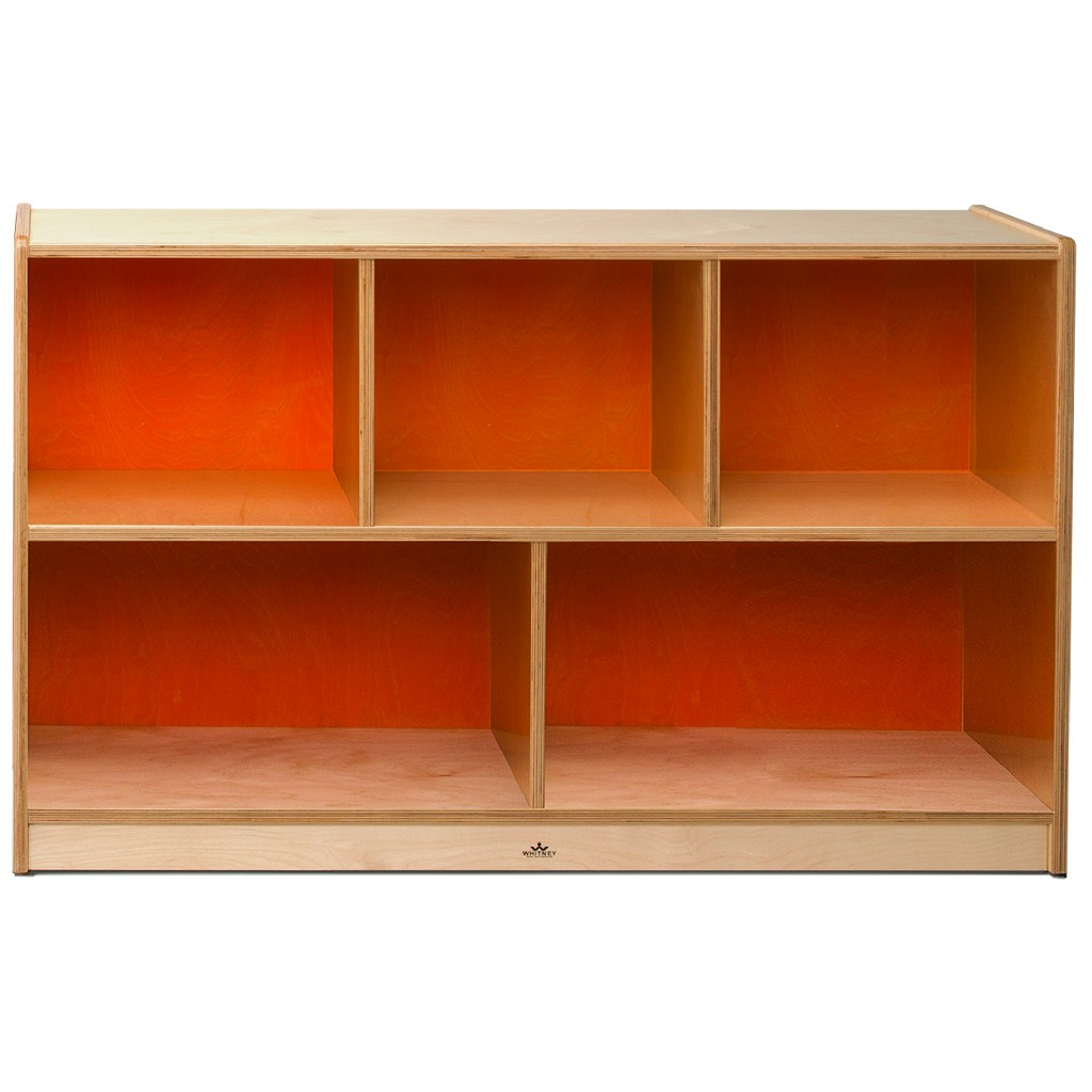 """18Mm 30"""" High Cabinet Orange Back - Whitney Brothers CH1330O"""