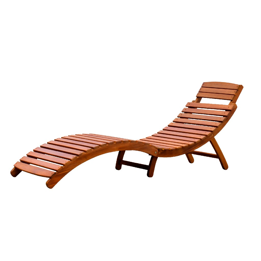 Curved Folding Chaise Lounger - Northbeam CLN0170110000