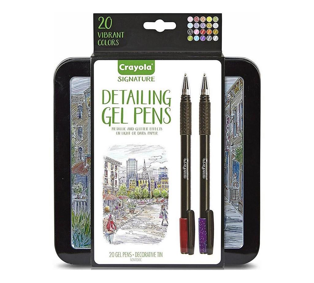 Signature Detailing Gel Pens, 20 Count - CO58-6503