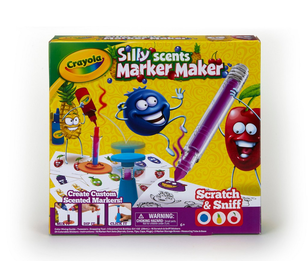 Crayola Silly Scents Marker Maker Kit - CO74-7240