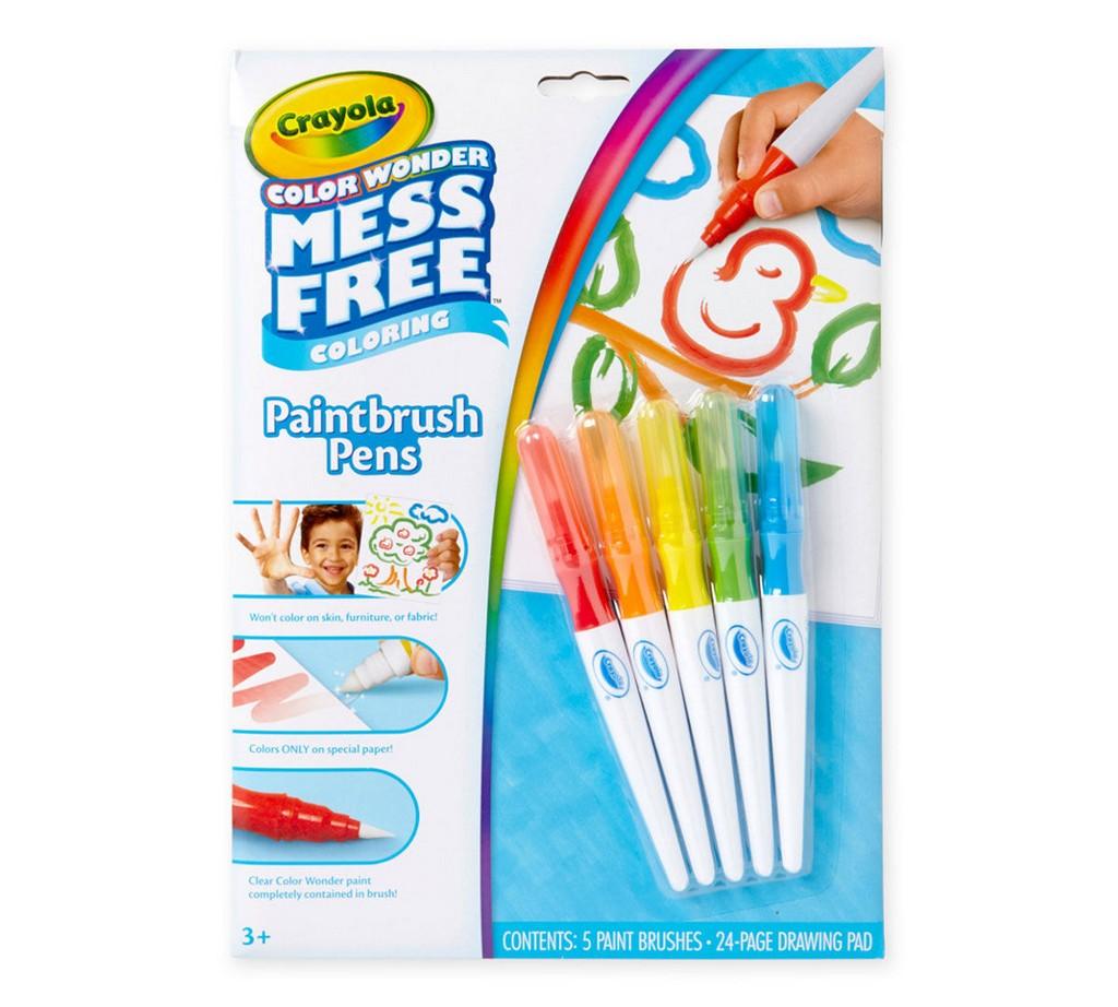 Color Wonder Mess Free Paintbrush Pens & Paper - CO75-2023