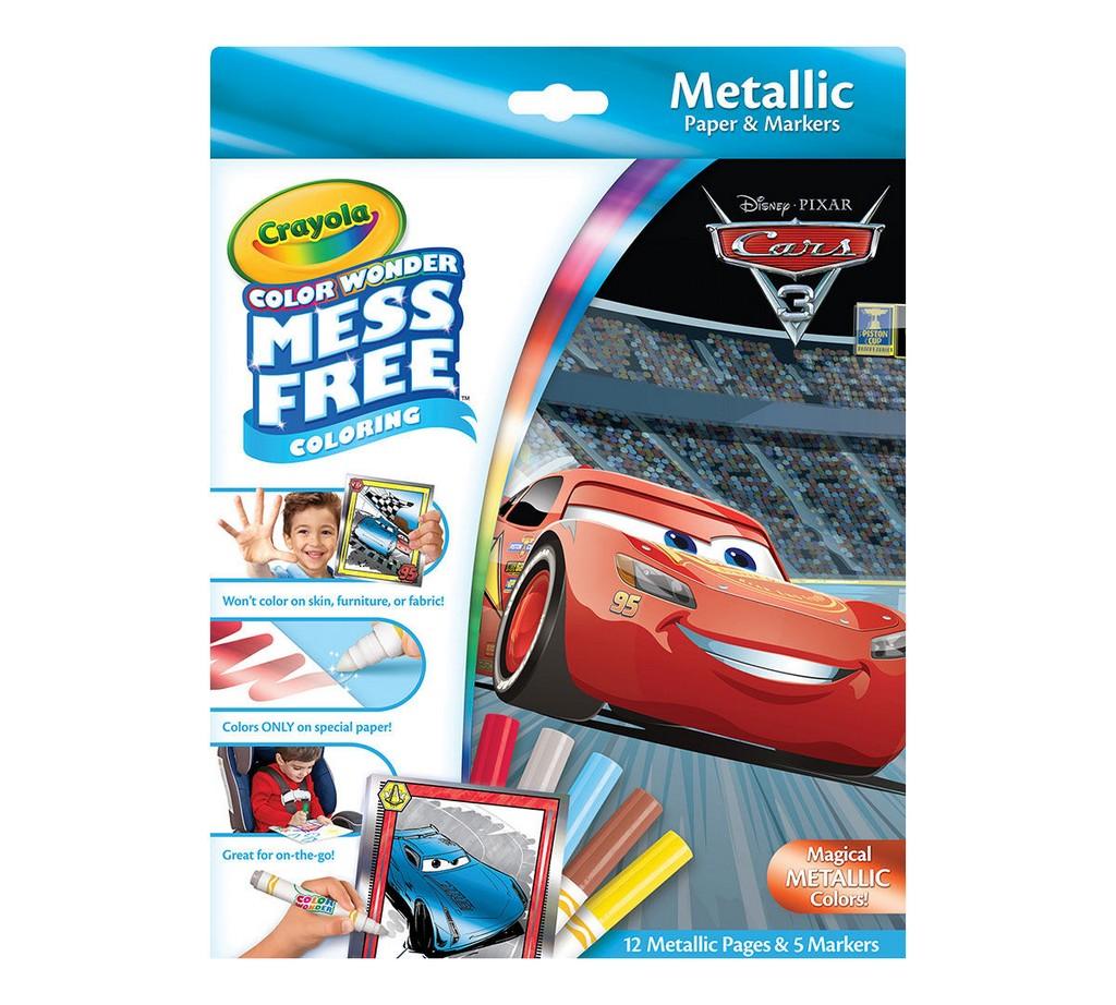 Color Wonder Mess Free Metallic Paper & Markers, Disney