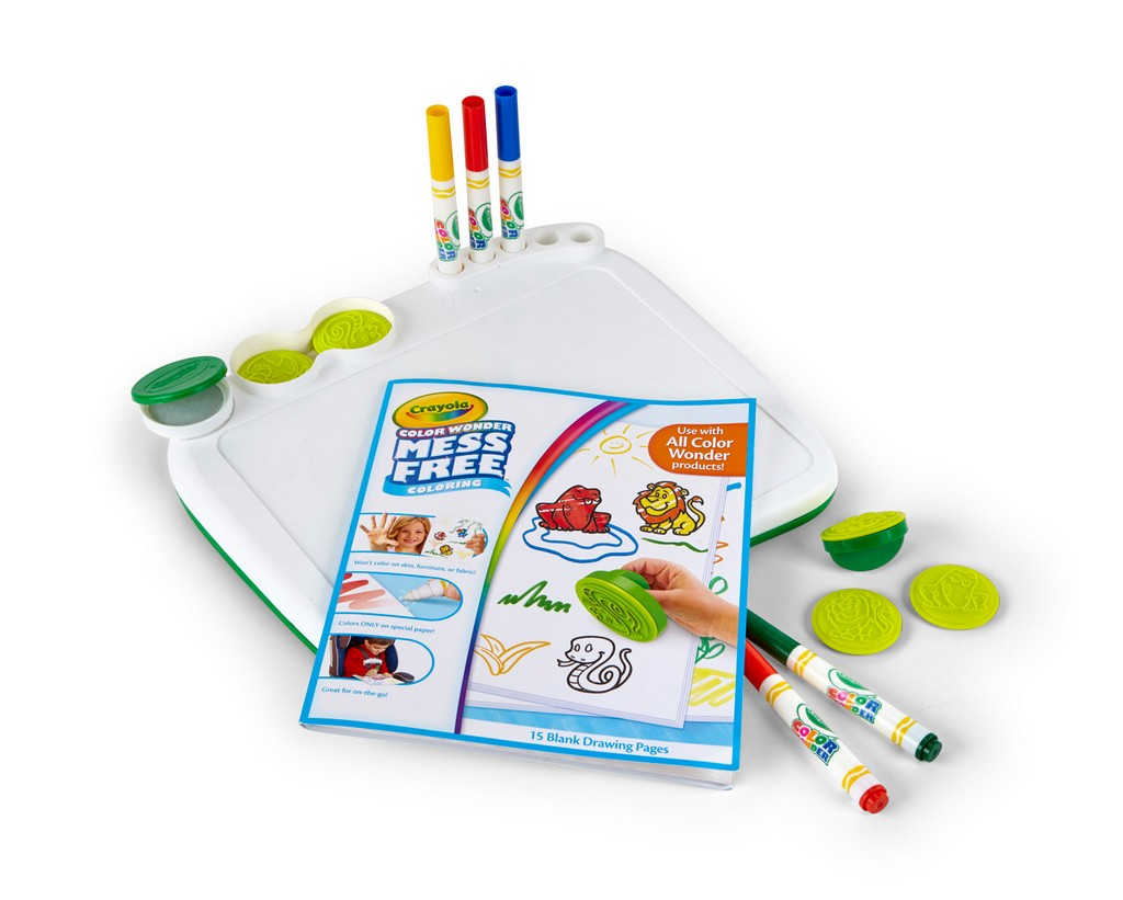 Crayola Color Wonder Art Desk with Stampers - CO75-2483