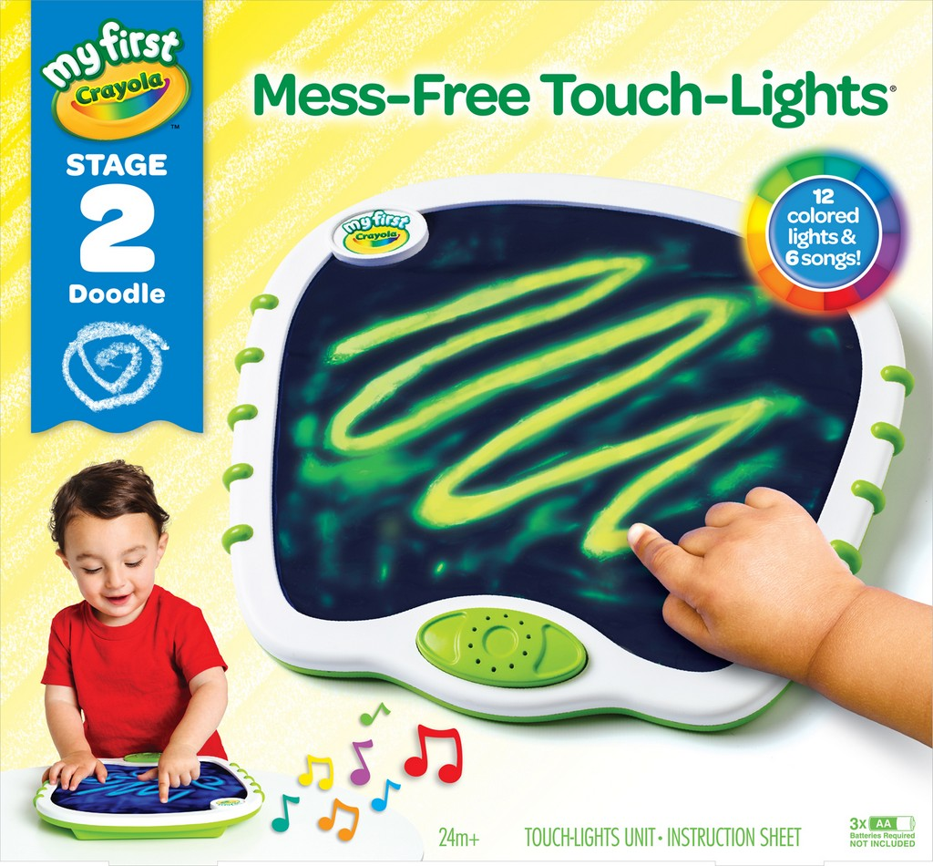 Crayola My First Crayola Mess Free Touchlights - CO81-1395