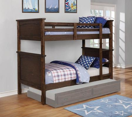 Coaster Rustic Country Twin Bunk Bed