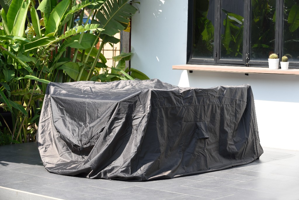 Amazonia Patio Cover for Dining Set / Rectangular & Waterproof/ Ideal to protect furniture against extreme weather - International Home COVER_DINING_RECT