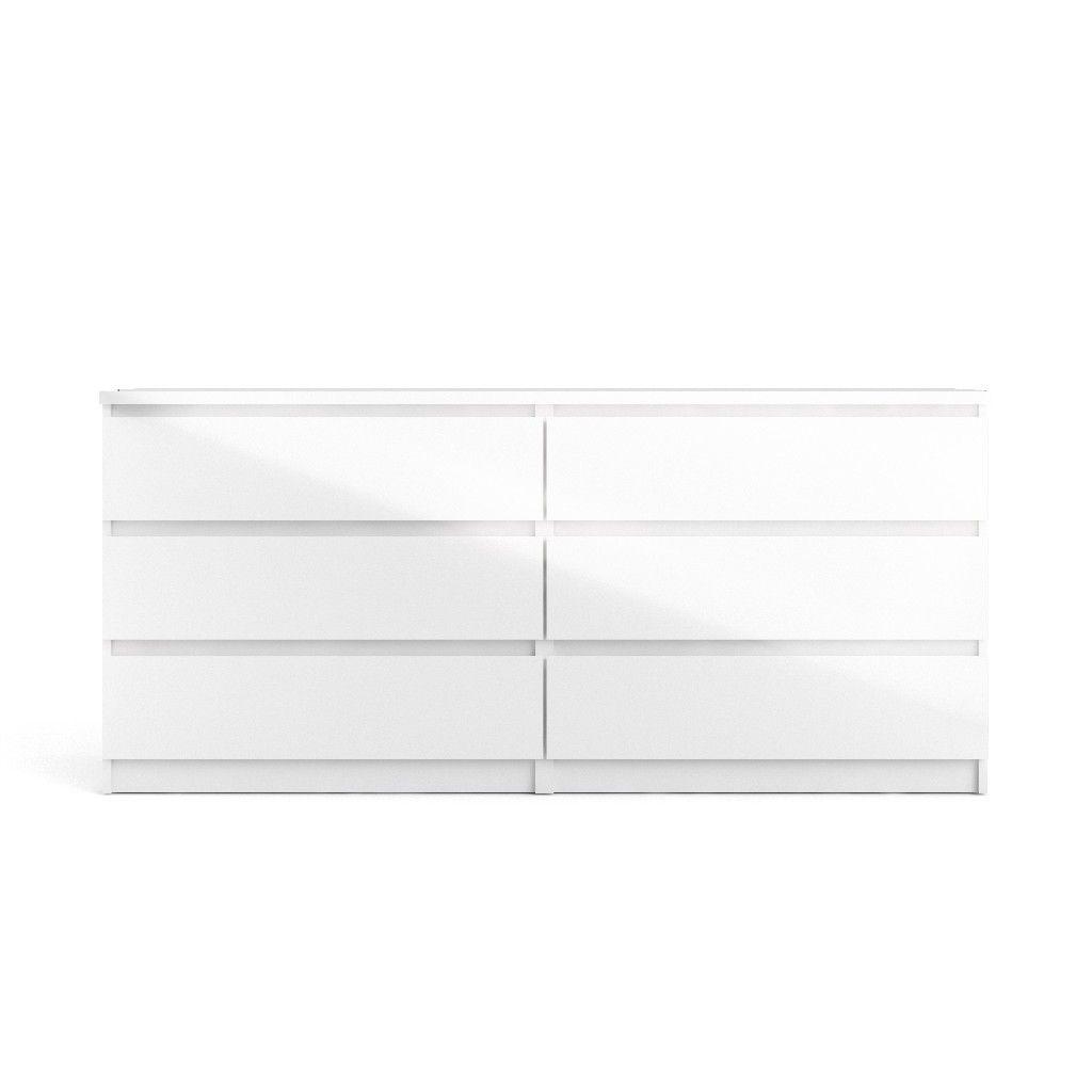 Scottsdale 6 Drawer Double Dresser In