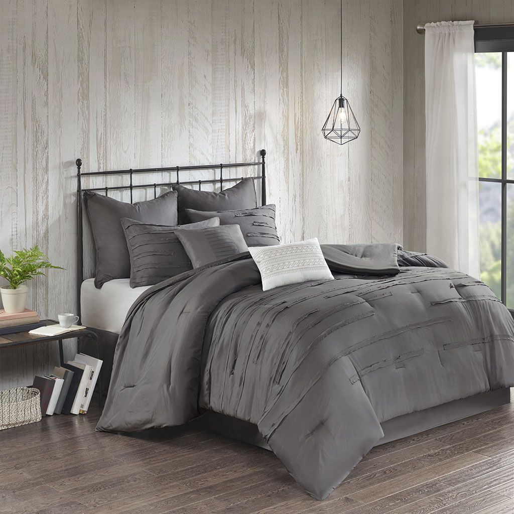 Jenda Queen 8 Piece Comforter Set 510 Design 5ds10 0180