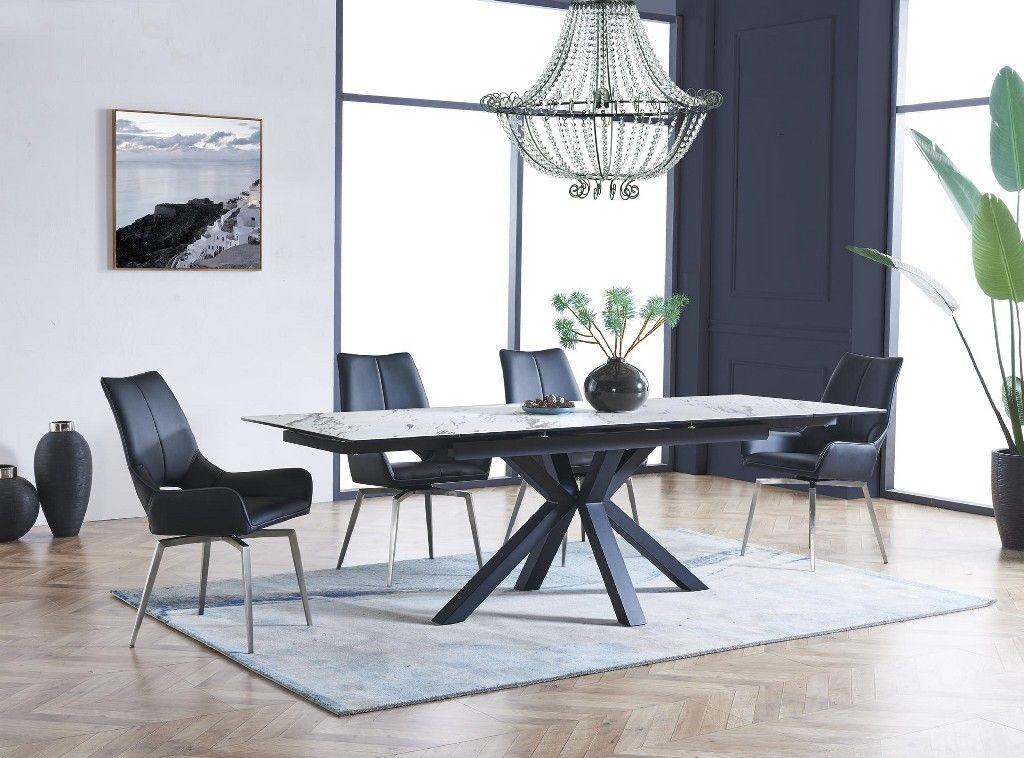Dining Table Black In Matte Black Global Furniture Usa D2691dt