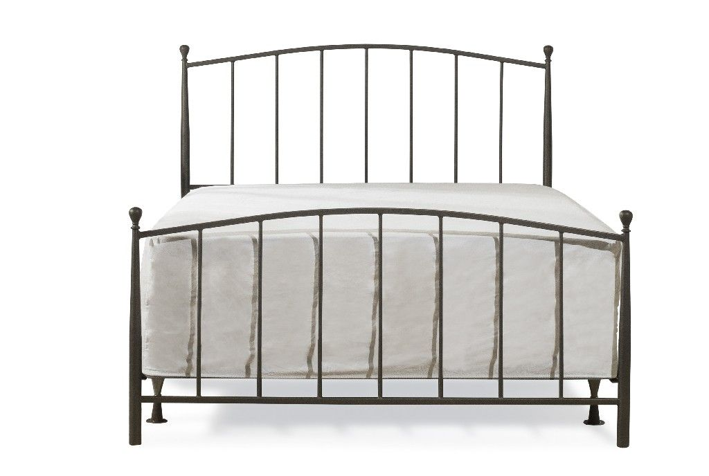 Warwick Full Bed Set In Gray Bronze Metal Bed Frame Not Included Hillsdale 2345 460