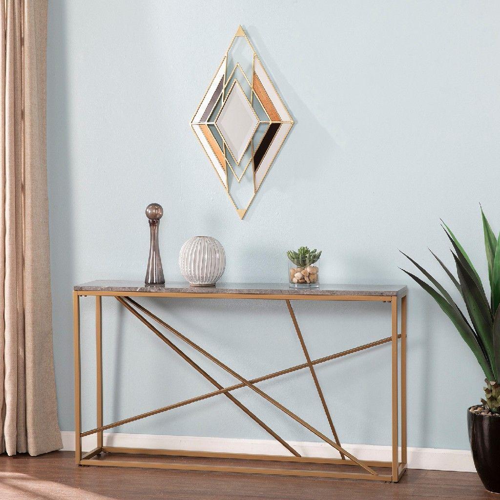 Calpi Vintage Style Decorative Mirror Southern Enterprises Ws2092