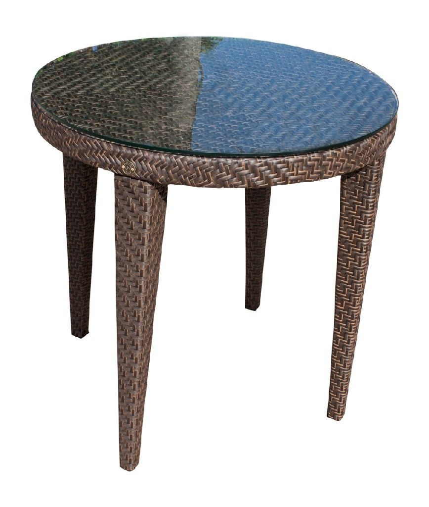 Soho Patio Woven Round Dining 30 Table