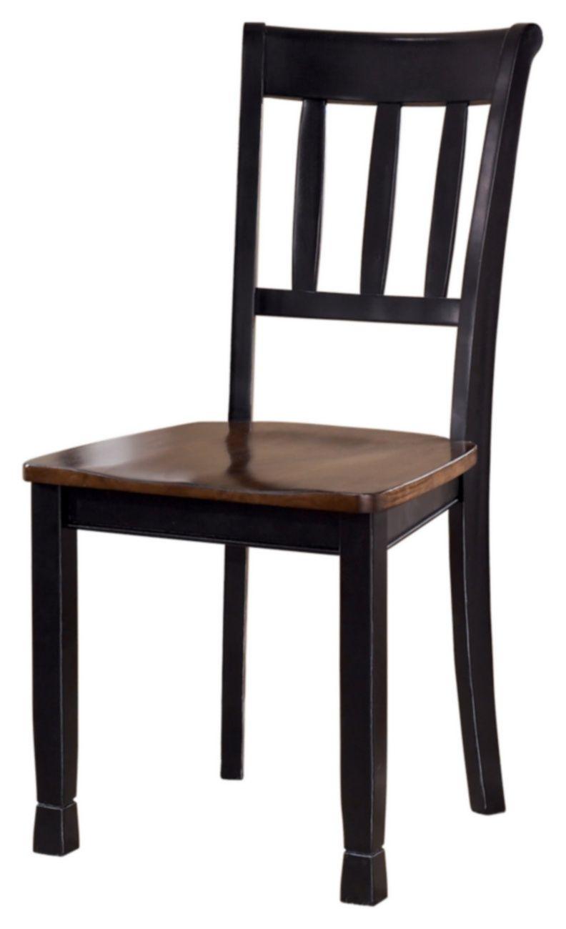 Signature Design Owingsville Dining Room Side Chair Set Of 2 Ashley Furniture D580 02
