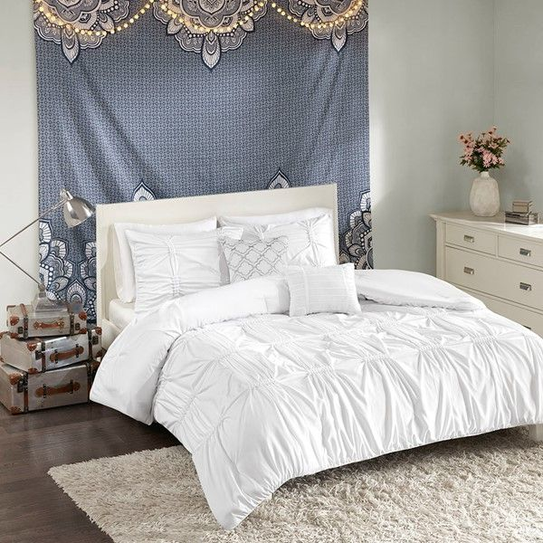 Twin Xl Comforter Set, White Bedding For Twin Bed