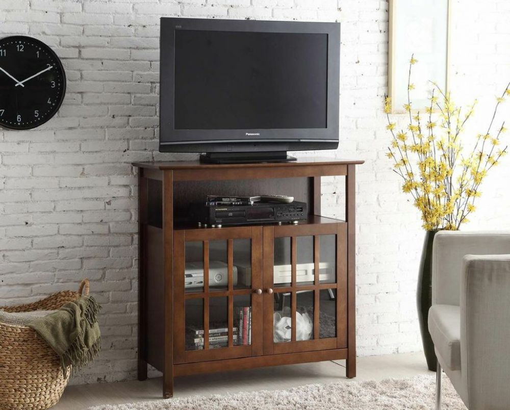Convenience Concepts Designs2Go Summit Highboy TV Stand in Espresso