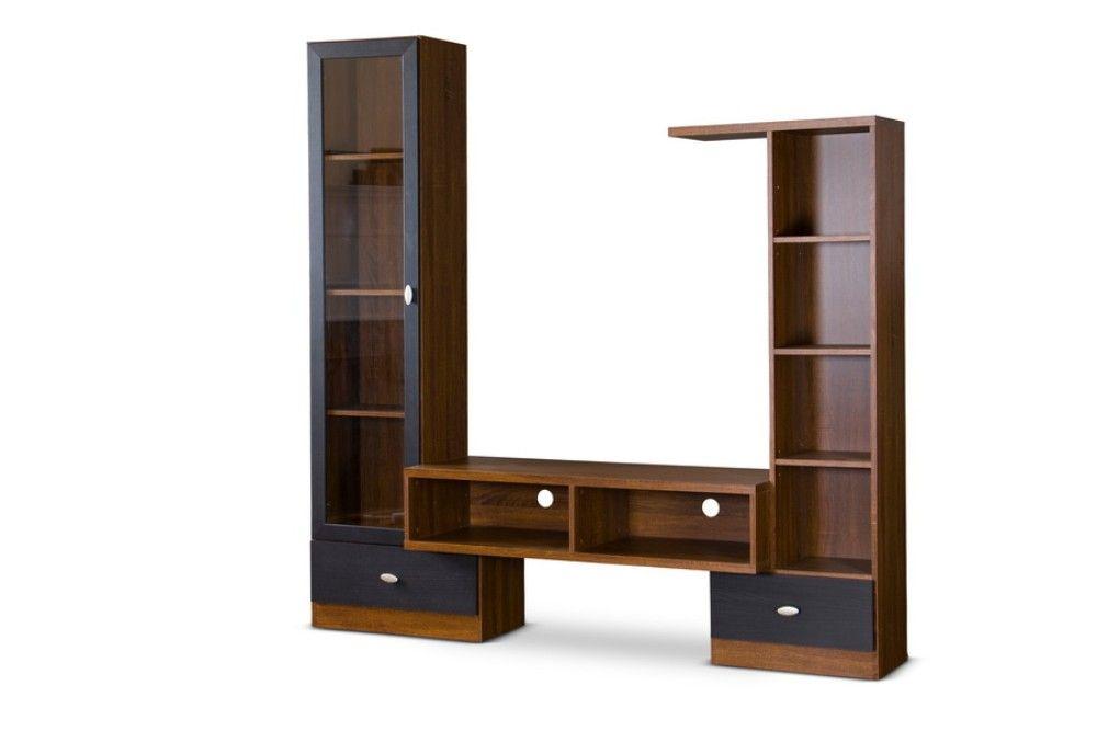 Baxton Studio Commodore TV Stand Wholesale Interiors TV-032-Oak