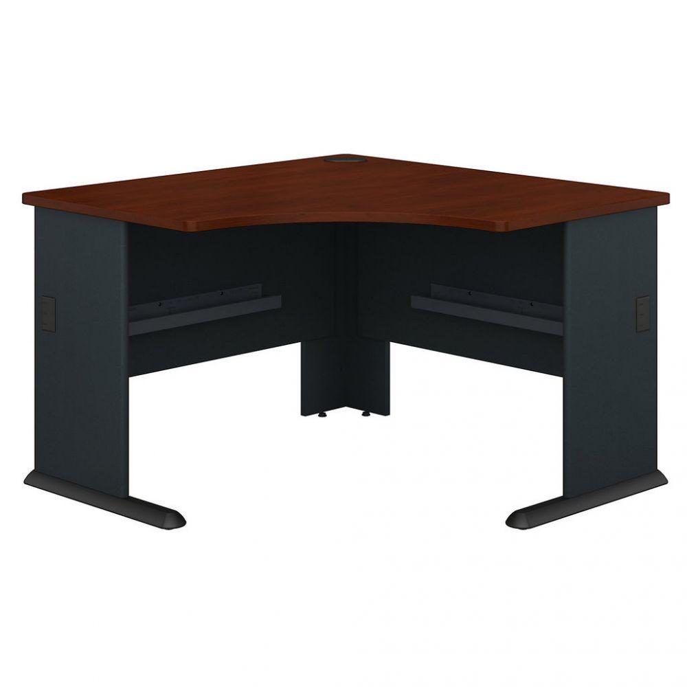 48w Corner Desk In Hansen Cherry