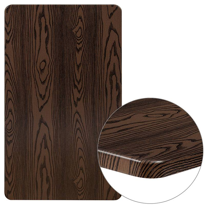 24 X 42 Rectangular Rustic Wood, Who Makes Flash Furniture