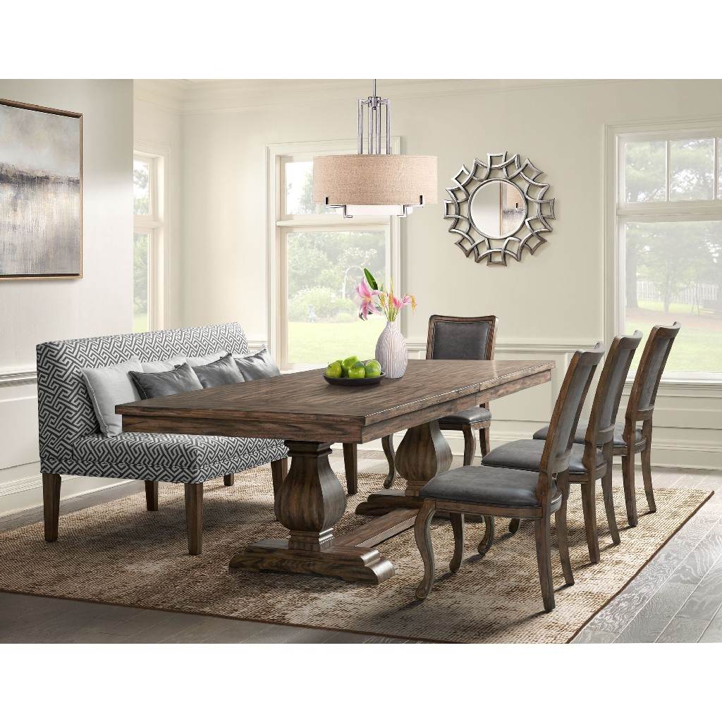Picket House Dining Set Table Chairs Settee