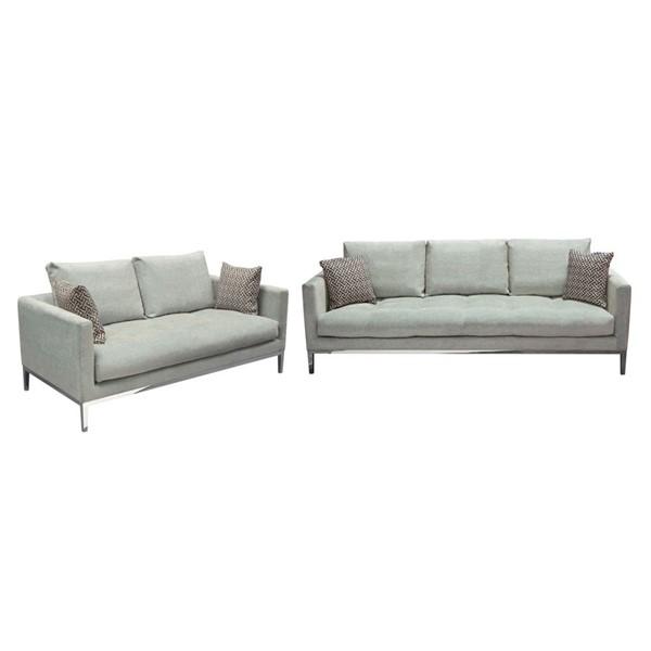 Pillow Back Sofa Loveseat Set