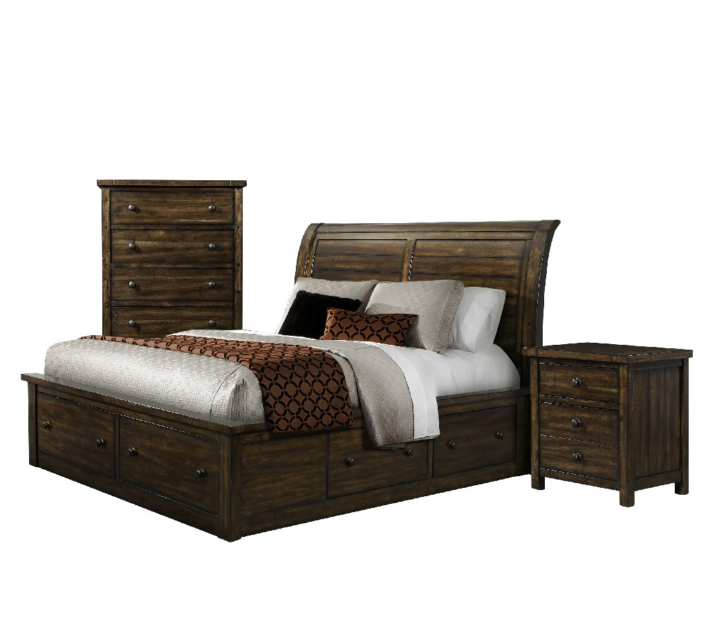 Picket House Bedroom Set King Storage
