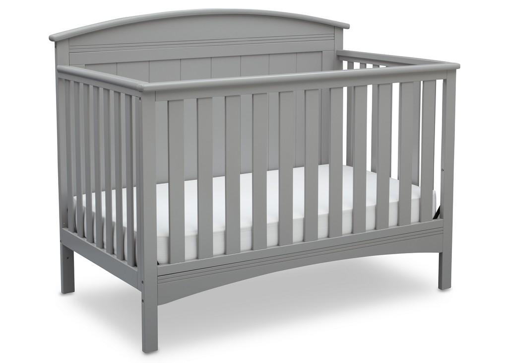 Delta Children Archer 4-in-1 Convertible Crib Grey - DT540330-026