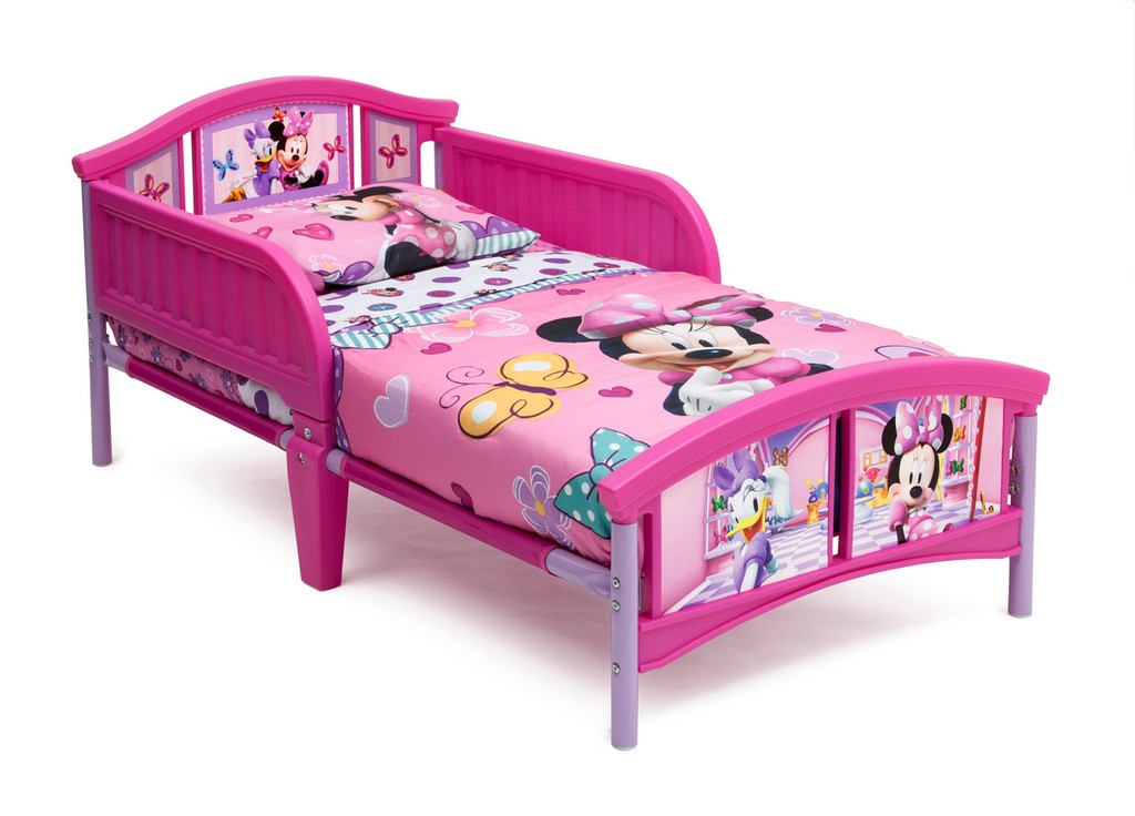 Delta Children Minnie Mouse Plastic Toddler Bed - DTBB86686MN