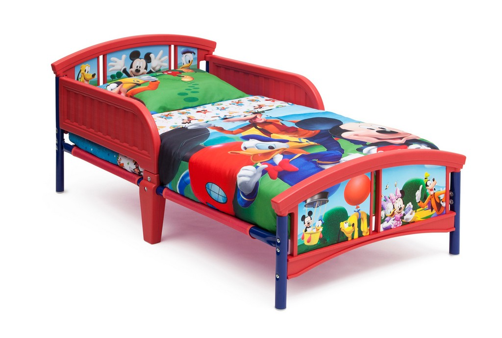 Delta Children Mickey Mouse Plastic Toddler Bed - DTBB86687MM