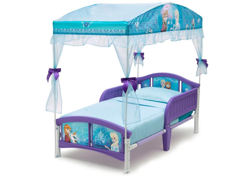 Delta Children Canopy Toddler Bed Disney Frozen - DTBB86910FZ-1091