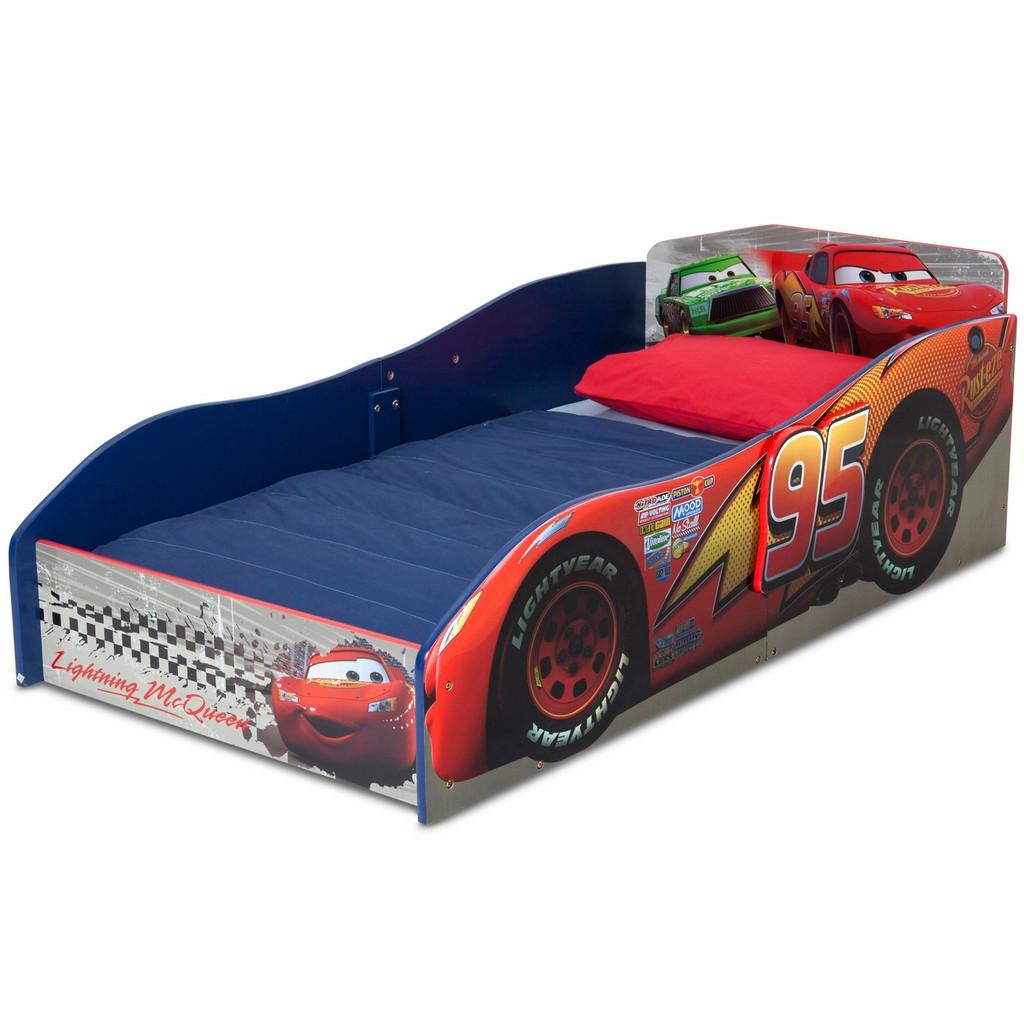 Delta Children Wood Toddler Bed Disney Pixar Cars - DTBB87105CR-1003