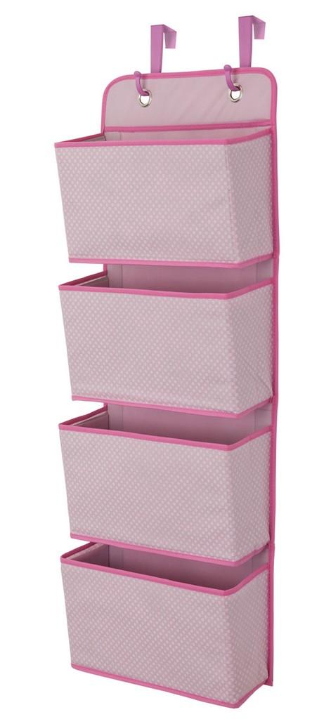 Delta Children 4-Pocket Organizer, Barley Pink - DTSS2008-689