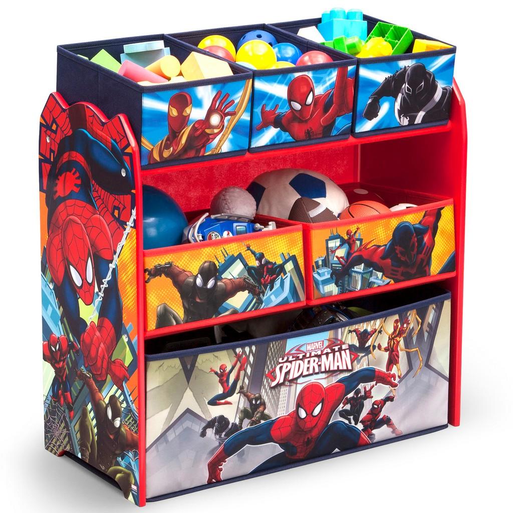 Delta Children Multi-Bin Toy Organizer Marvel Spider-Man - DTTB83226SM-1163