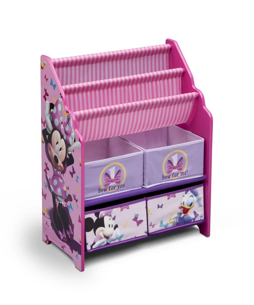 Delta Children Minnie Mouse Book & Toy Organizer - DTTB84974MN