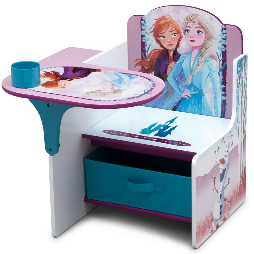 Disney Frozen II Chair Desk with Storage Bin - DTTC83685FZ-1097