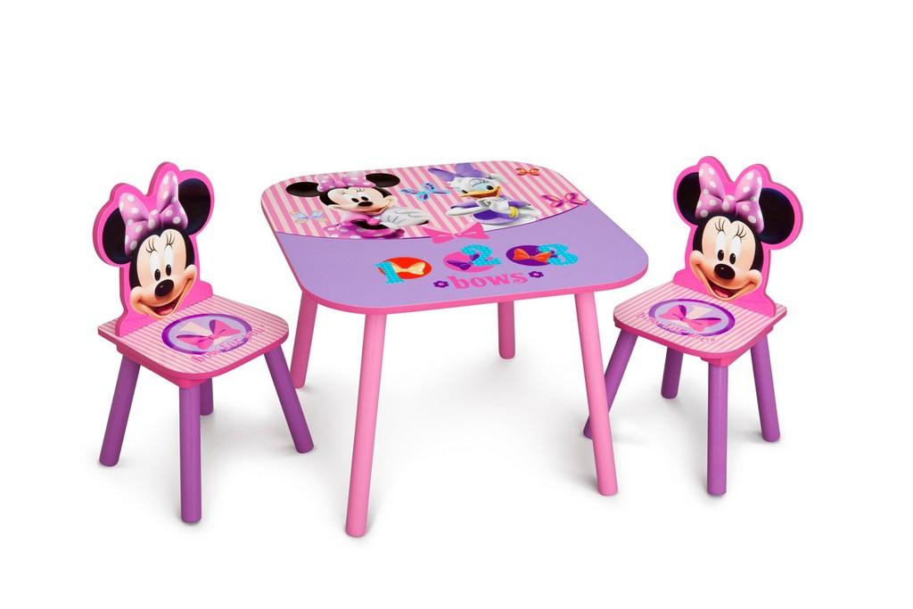 Delta Children Minnie Mouse Table & Chair Set - DTTT89444MN