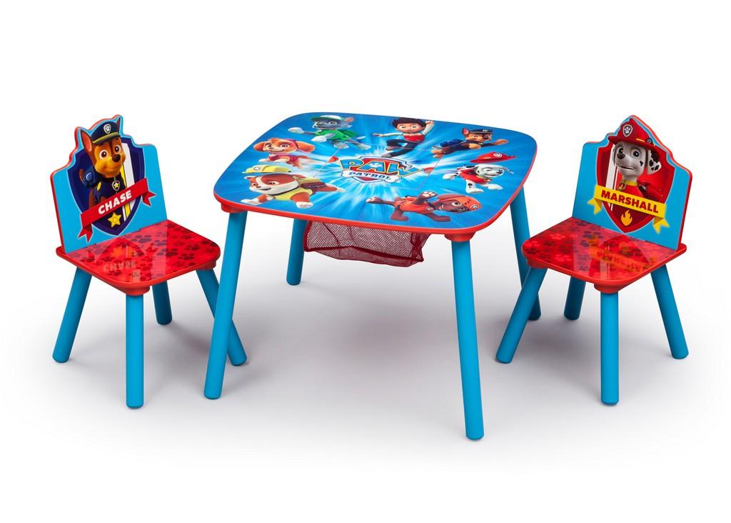 Delta Children PAW Patrol Table & Chair Set with Storage - DTTT89501PW
