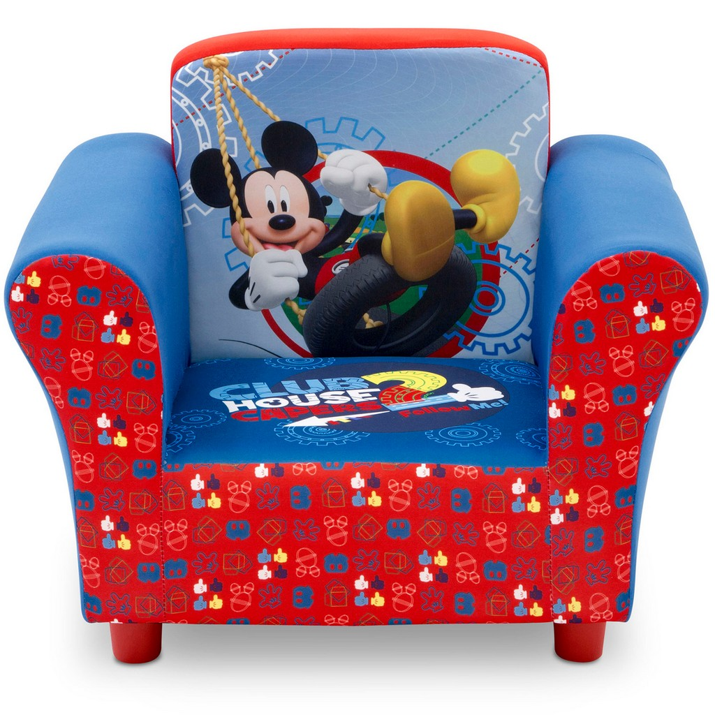 Delta Children Disney Mickey Mouse Upholstered Chair - DTUP83509MM-1051
