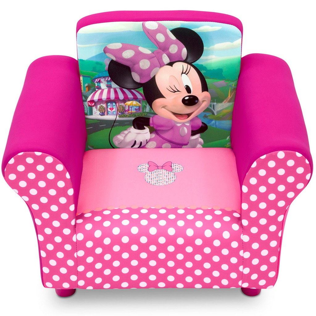 Delta Children Disney Minnie Mouse Upholstered Chair - DTUP83517MN-1063