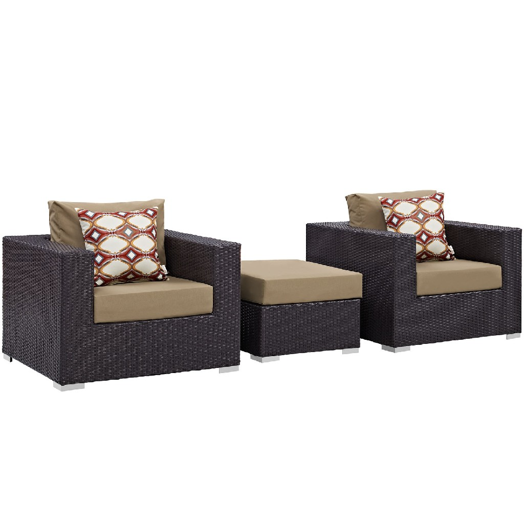 East End Outdoor Patio Sofa Set Exp Moc Set