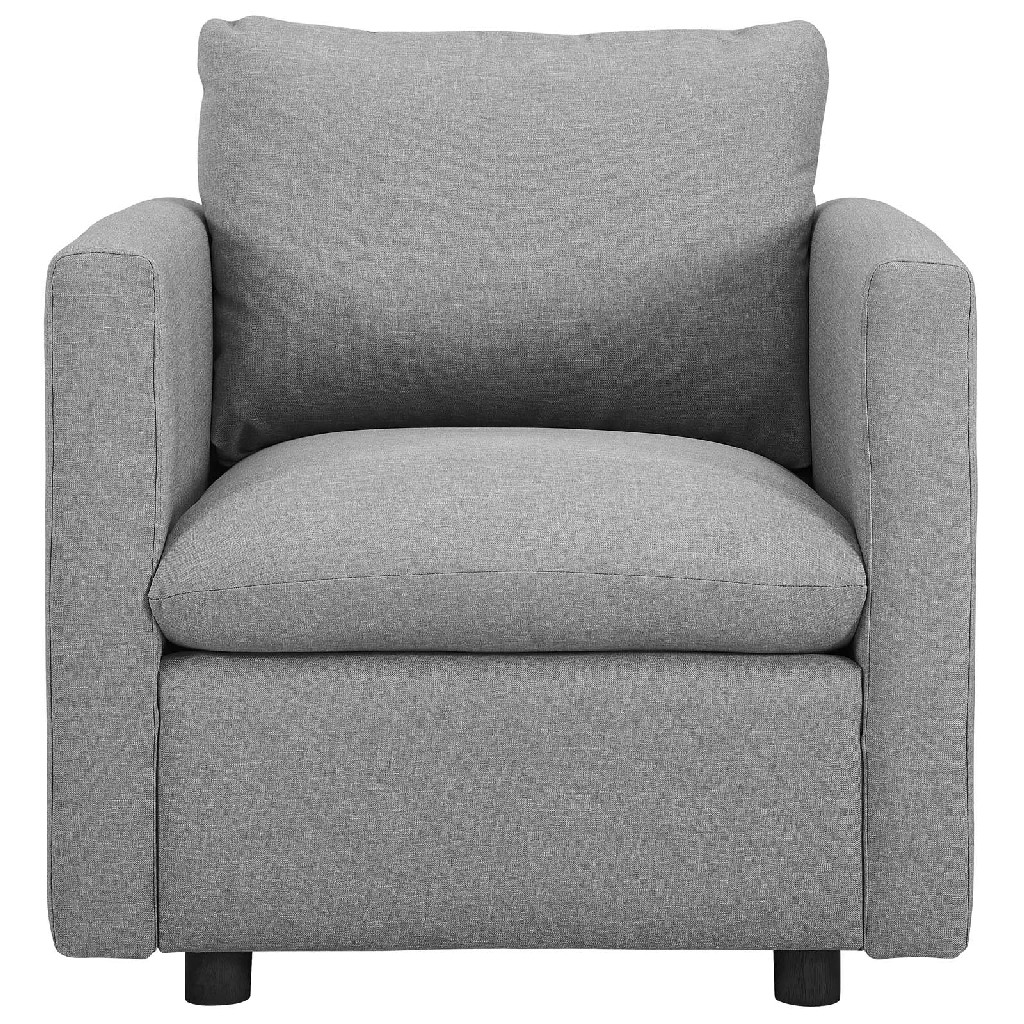 Activate Upholstered Fabric Armchair EEI-3045-LGR