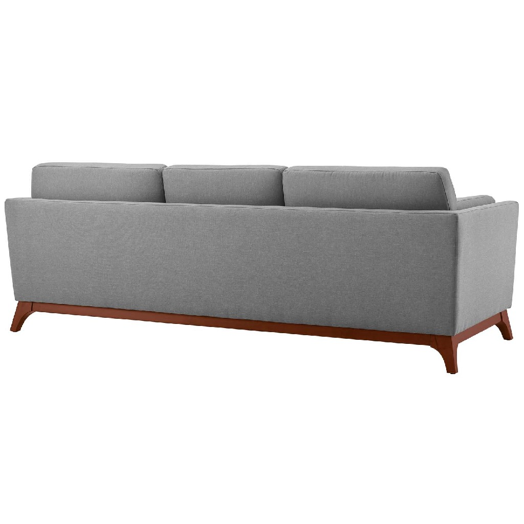 East End Chance Upholstered Fabric Sofa Lgr