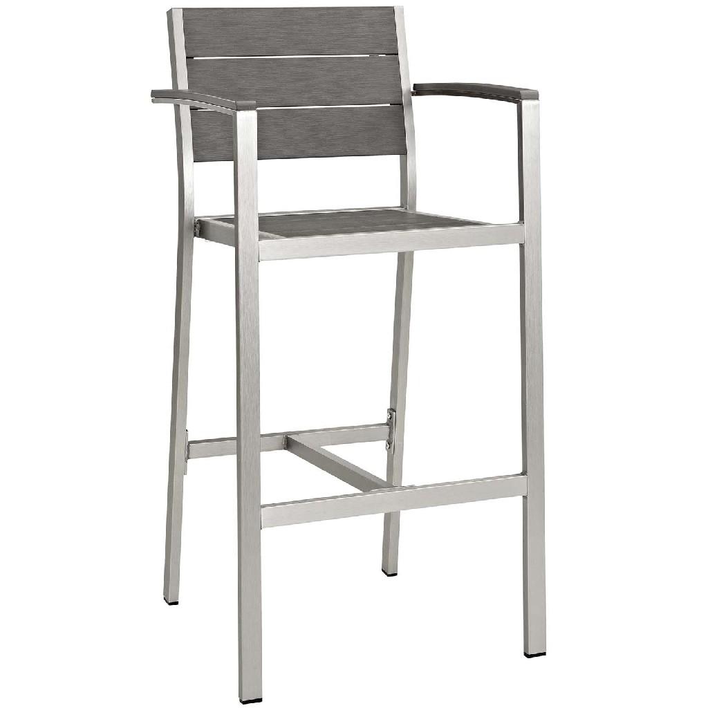 Aluminum | Outdoor | Patio | Stool | Bar | Set
