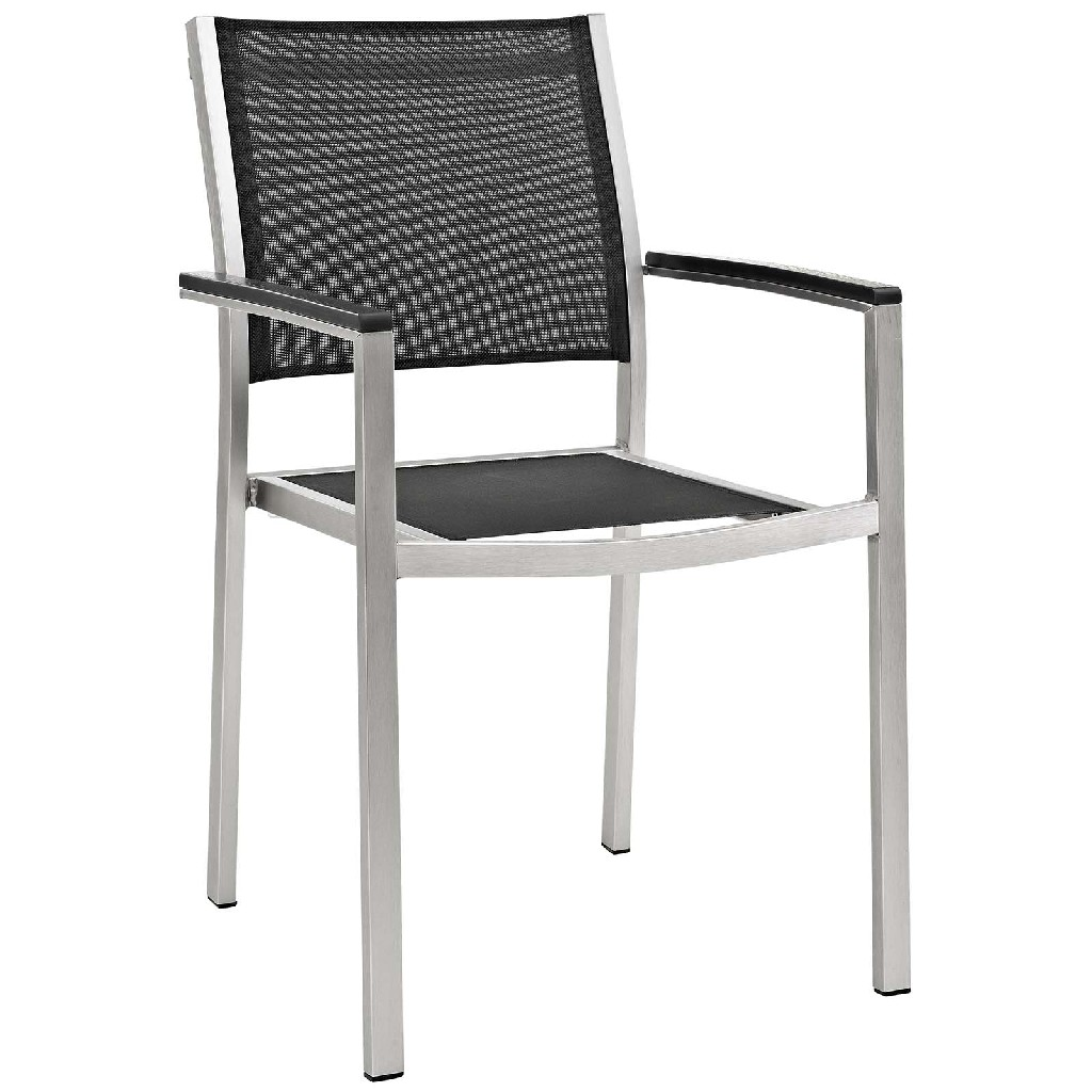 East End Outdoor Patio Aluminum Outdoor Dining Set Slv Set