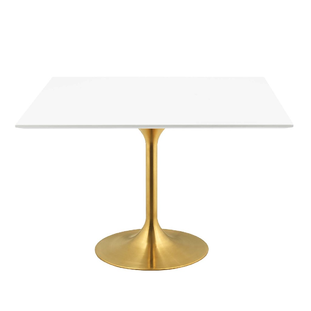 East End Imports Square Dining Table Gld