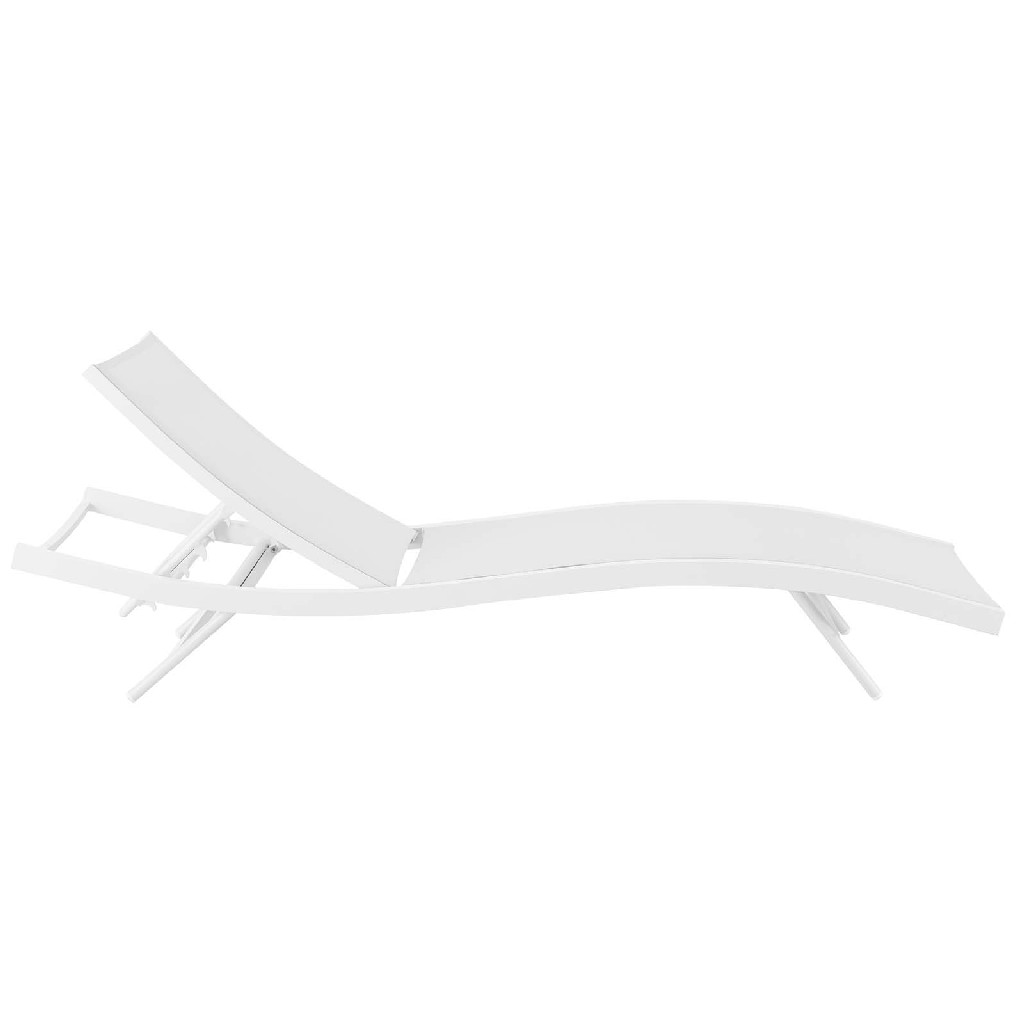 Outdoor | Chaise | Lounge | Patio | Chair | Mesh