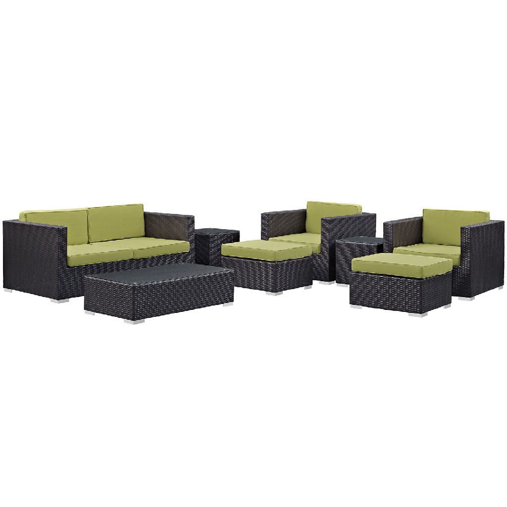 East End Outdoor Patio Sofa Set Exp Per Set